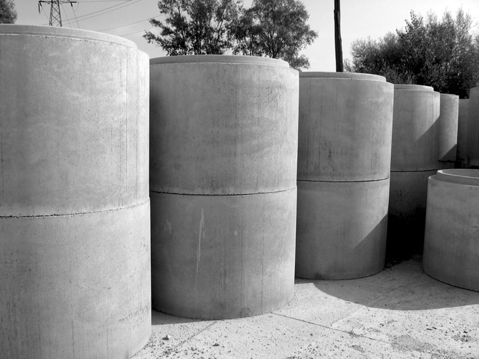Kręgi Betonowe I żelbetowe Studnie Betonowe Cena Wymiary